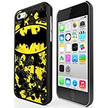 Funda con Logo de Batman para iPhone 5c Plastico Duro